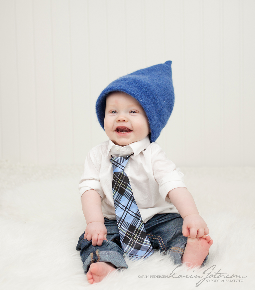 Babyfotografering 7 mmd hos KarinFoto