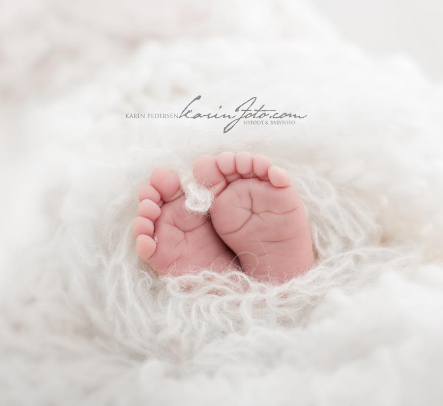 Nyfødtfotografering,babyføtter,karinfoto,babyfotografering