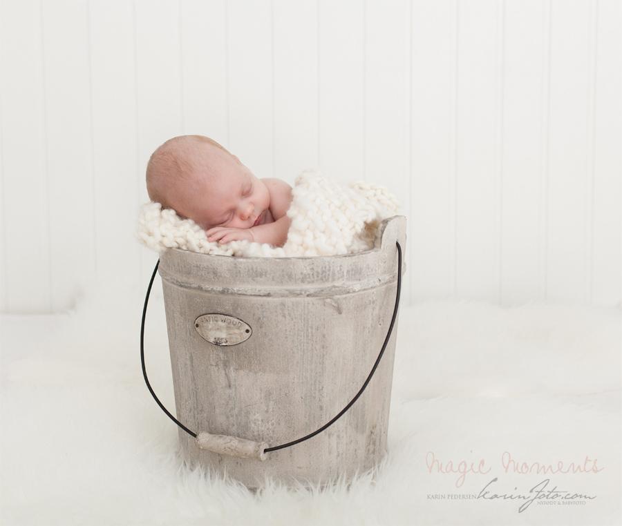 Vakker nyfødt,babyfotografering,karinfoto