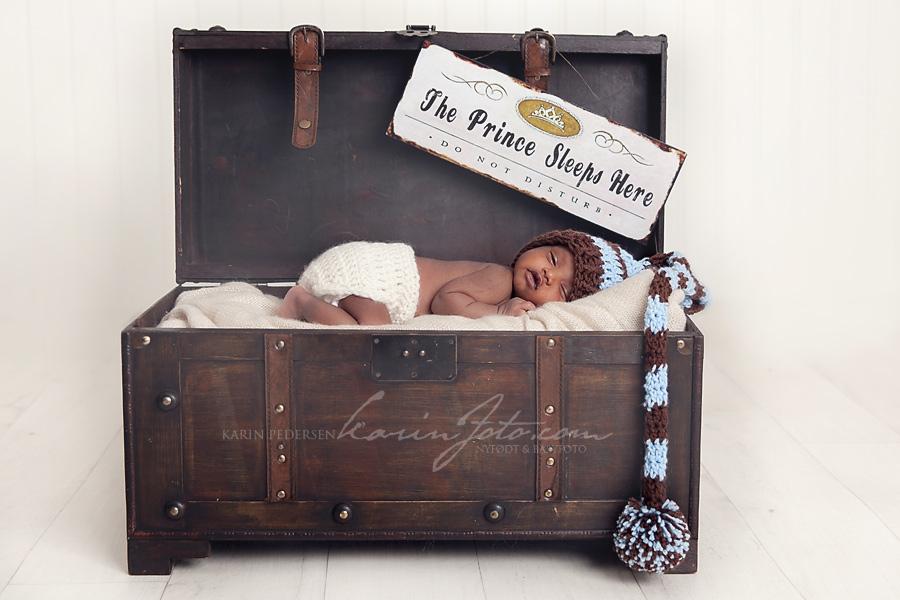 Karinfoto,nyfødtfotografering,babyfotograf,østlandet,baby,drammen,kiste,langlue,rekvisitter,