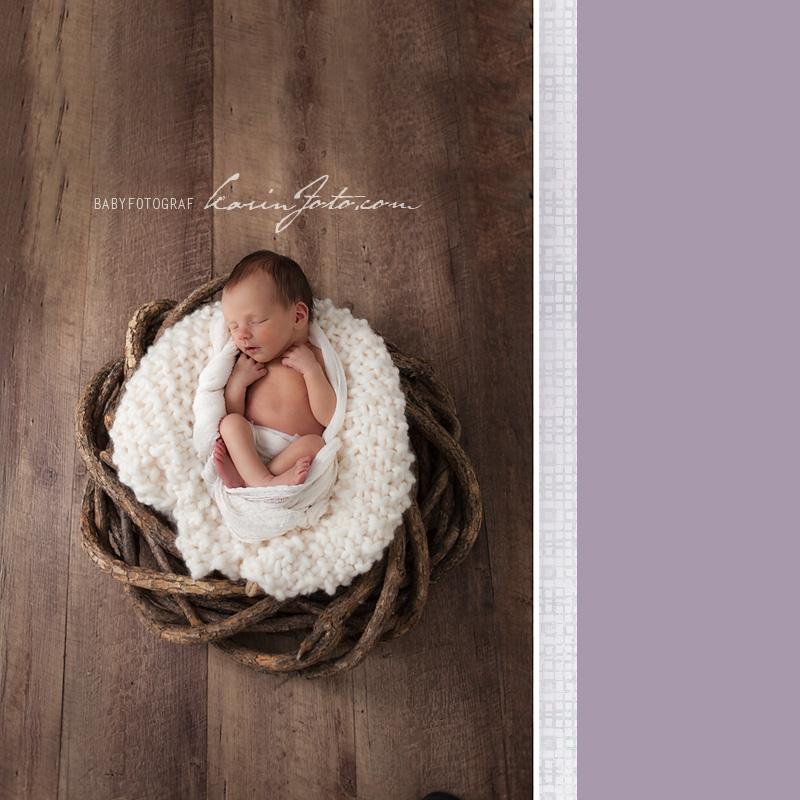 Vakker_nyfødtfotografering_babyfotografering_i_Studio