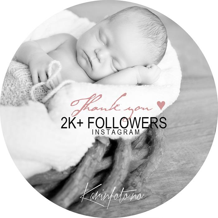 2k,followers,følgere,instagram,karinfoto,babyfotograf