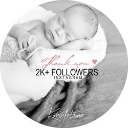 2000+ følgere på Instagram