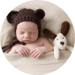 Nyfødtfotografering av vakker liten prins fra Sarpsborg!