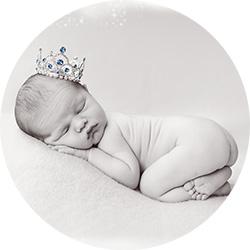 Booking av nyfødtfotografering før fødsel