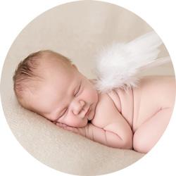 Nydelig liten engel