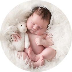 Nyfødtfotografering // En nydelig prinsesse