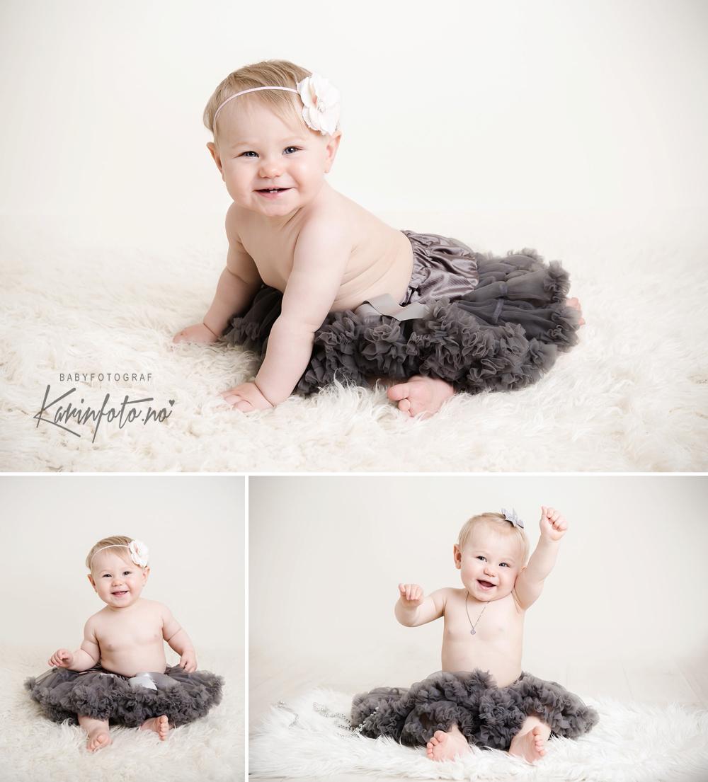 Vakker ettårsfotografering i Sarpsborg,babyfotograf Karin Pedersen