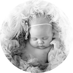 En liten lur på babyfotografering